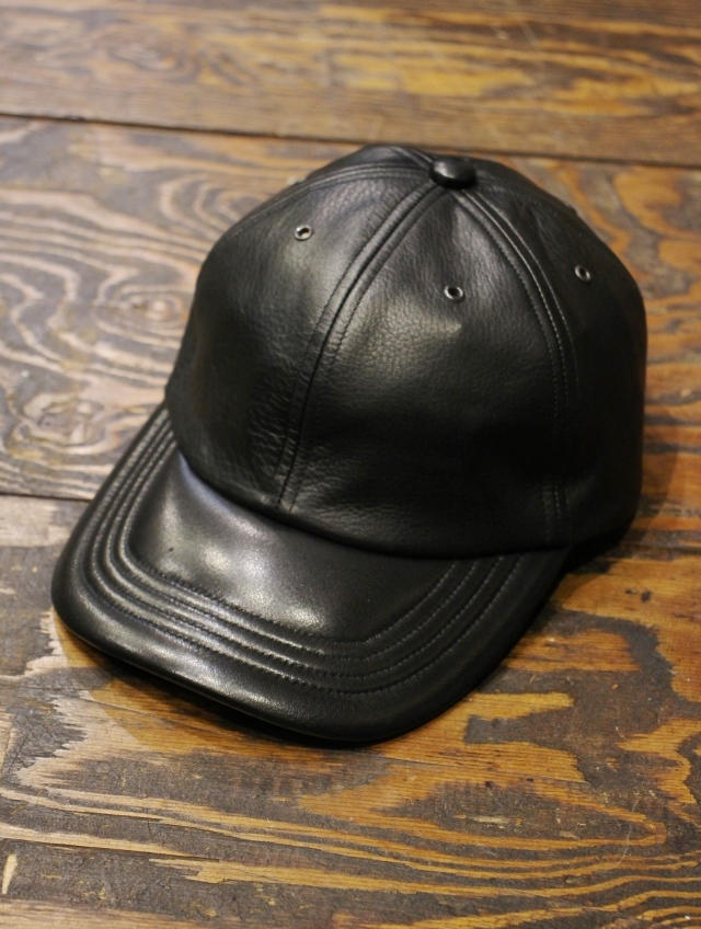 COOTIE   「Leather 6 Panel Cap 」 レザーキャップ