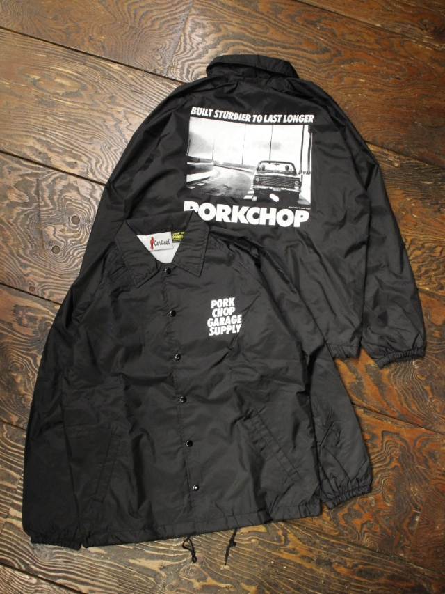 PORKCHOP GARAGE SUPPLY   「C-10 PHOTO COACH JKT 」  コーチジャケット