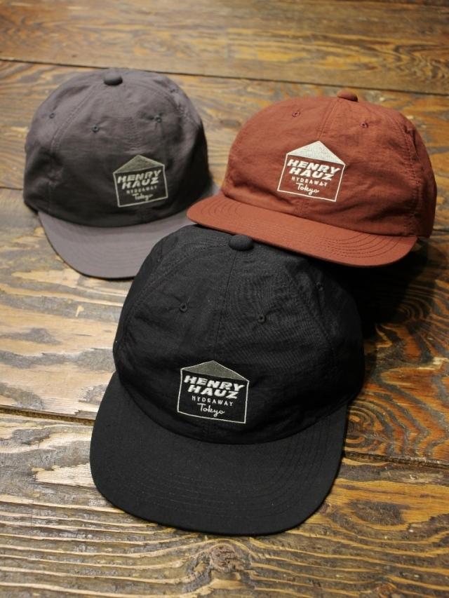 HENRY HAUZ  「HENRY HAUZ LOGO CAP」 6パネルキャップ