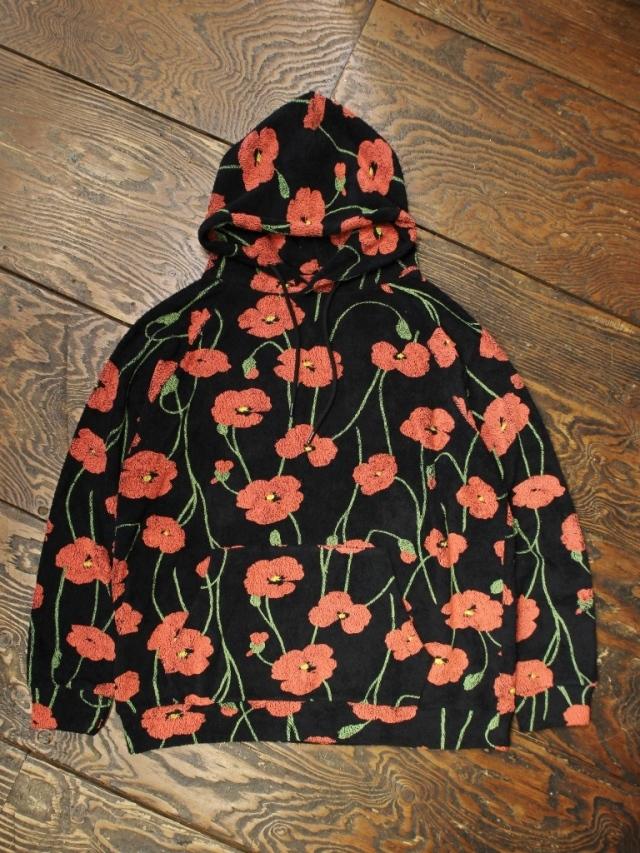 SON OF THE CHEESE  「 Flower Hoodie 」 プルオーバーパーカー