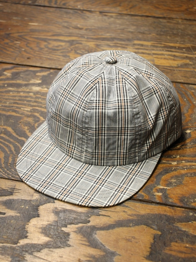 SON OF THE CHEESE  「 Plaid Cap 」  6パネルキャップ