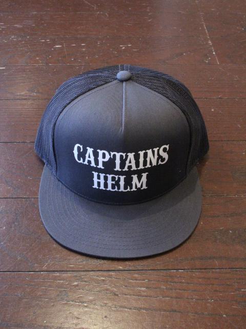 CAPTAINS HELM 「#LOCALS LOGO MESH CAP」 メッシュキャップ