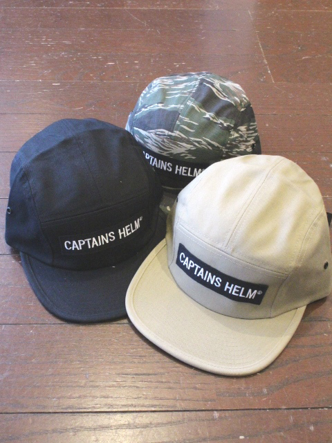 CAPTAINS HELM 「#TRADEMARK CAMP CAP」 ジェットキャップ