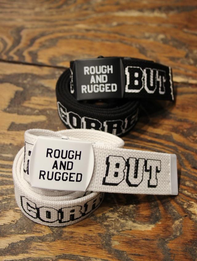 ROUGH AND RUGGED  「MIL BELT」 GI ベルト