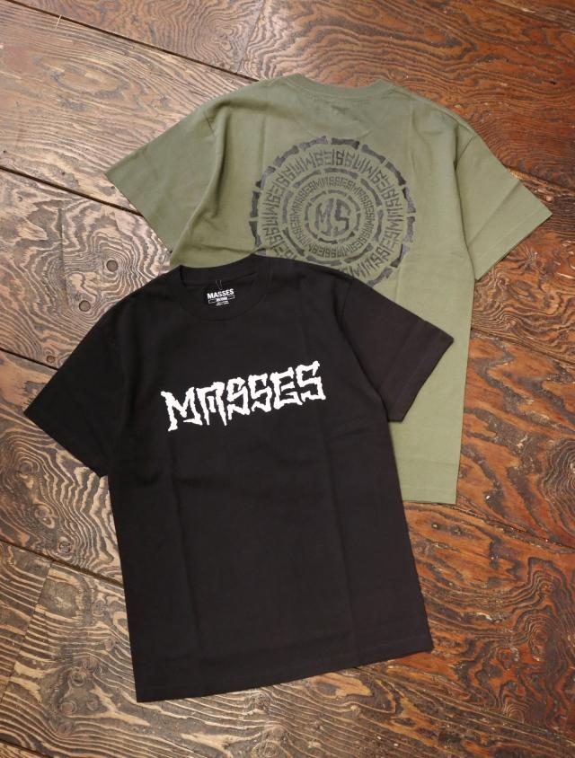 MASSES  「T-SHIRTS CIRCLE」  プリントティーシャツ