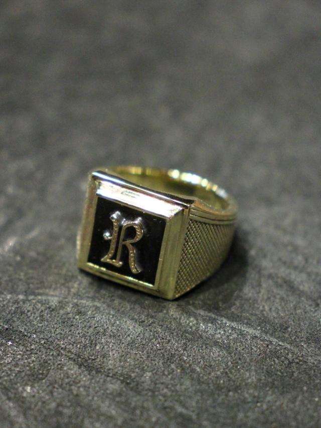 RADIALL  「SYMBOLIZE ‐ PINKY RING」 BRASS製 ピンキーリング