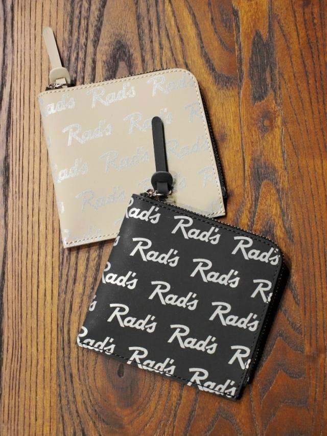 RADIALL    「RAD'S - ZIP SQUARE WALLET」  レザージップウォレット