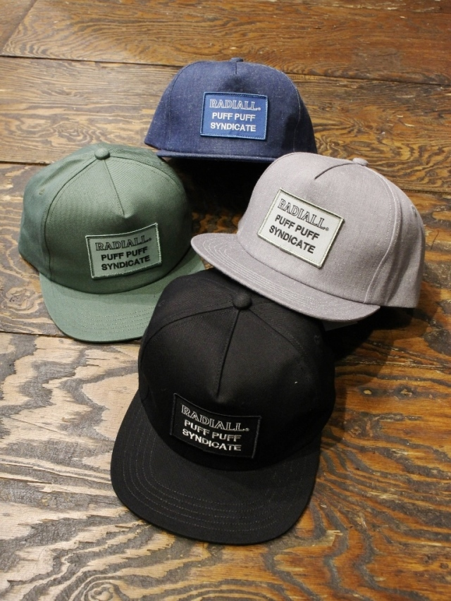 RADIALL  「SYNDICATE - TRUCKER CAP」 トラッカーキャップ