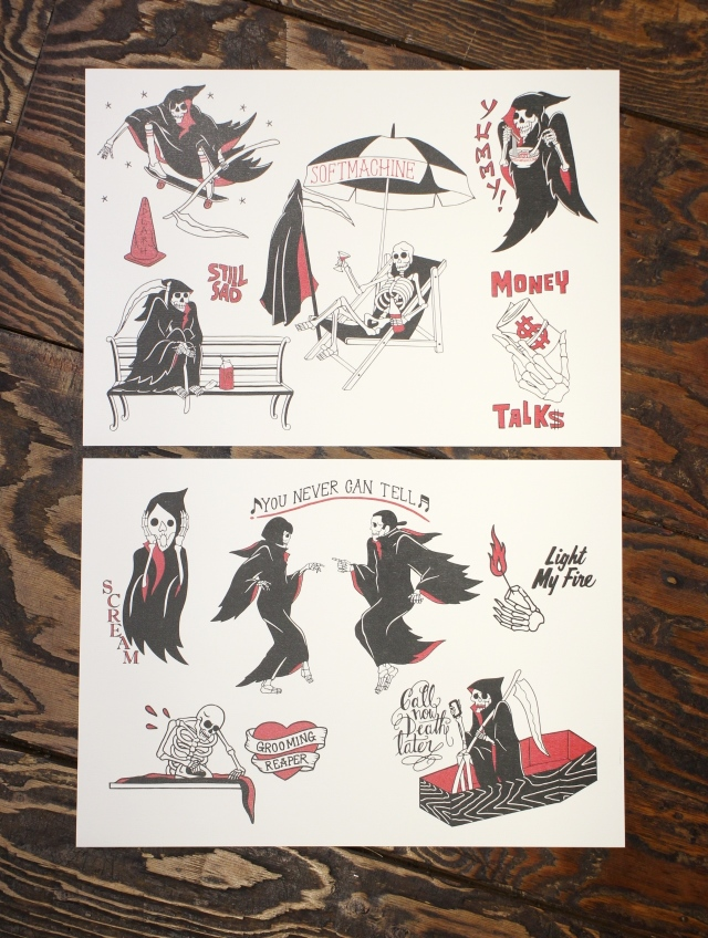 SOFTMACHINE  「CLOAK CAPES FLASH」 フラッシュポスターセット