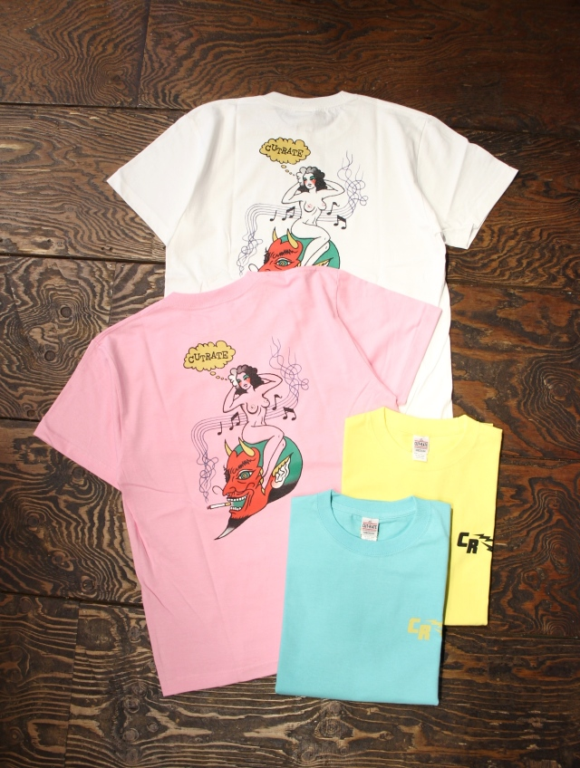 CUT RATE  「PINUP GIRL T-SHIRT」 プリントティーシャツ