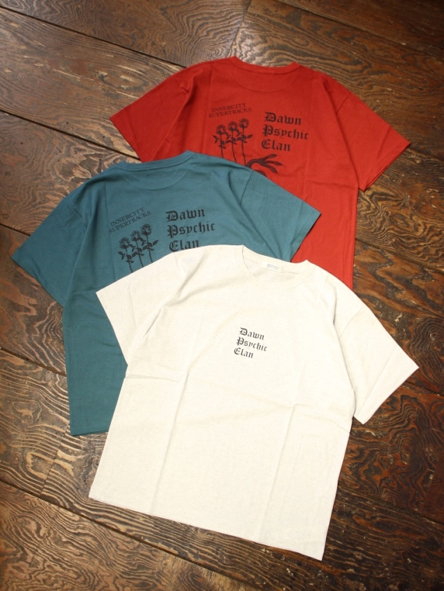 RADIALL  「PSYCHIC - CREW NECK T-SHIRT S/S」  プリントティーシャツ