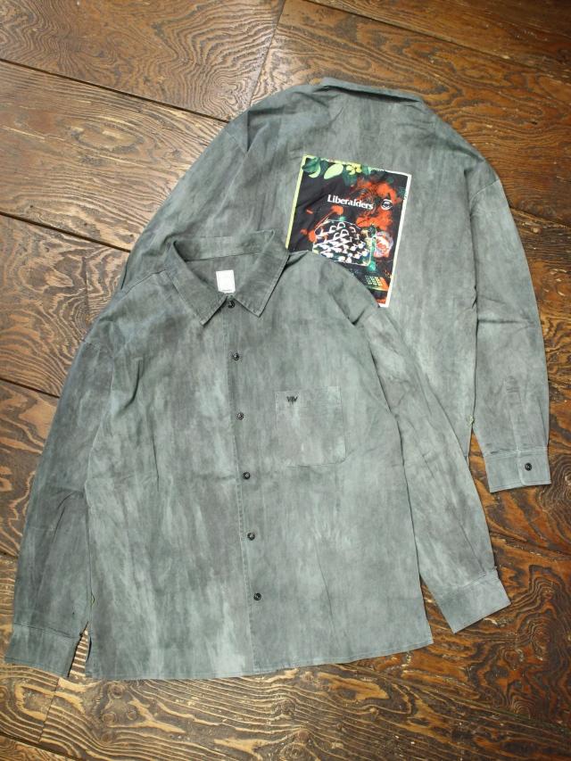 Liberaiders  「 OVERDYED L/S SHIRT  」 オープンカラーシャツ