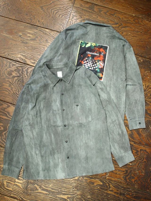 Liberaiders  「 OVERDYED L/S SHIRT  」 オープンカラーシャツ