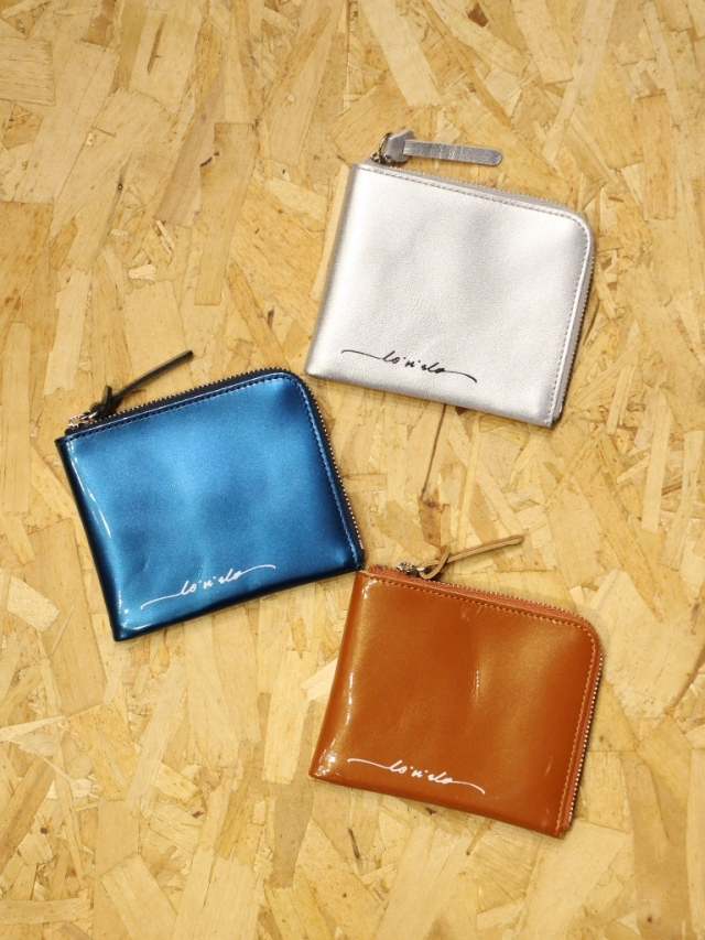 RADIALL    「CANDY - ZIP SQUARE WALLET」  レザージップウォレット