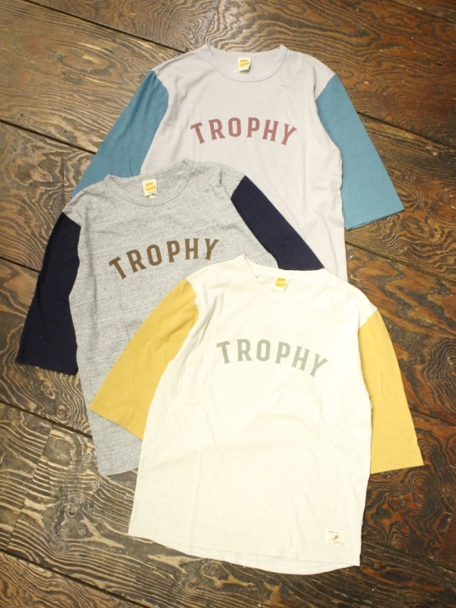 TROPHY CLOTHING  「Classic BB Tee」 ベースボールTシャツ