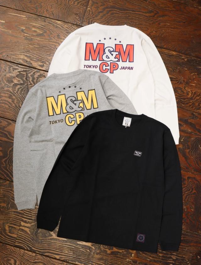 【 9月14日発売!】 M&M CUSTOM PERFORMANCE   「 PRINT L/S T-SHIRT 」 プリントロンティー