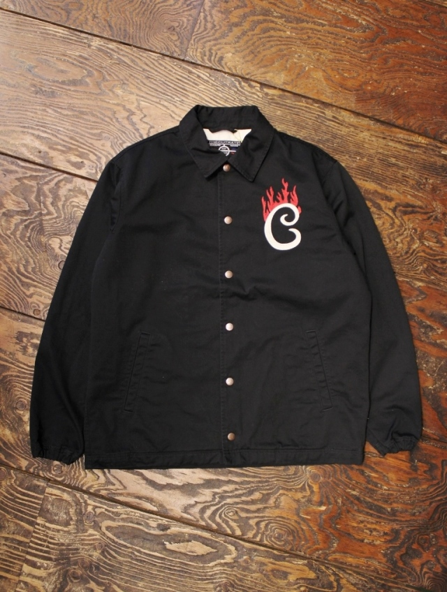 CUT RATE   「FLAME LOGO COTTON COACH JACKET」  コットンコーチジャケット