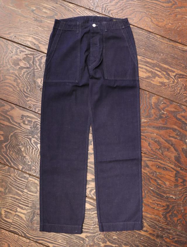 TROPHY CLOTHING  「 Mil Denim Baker Pants」  デニムベイカーパンツ