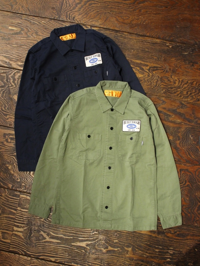 CHALLENGER   「L/S PATCH WORK SHIRT」 ワークシャツ