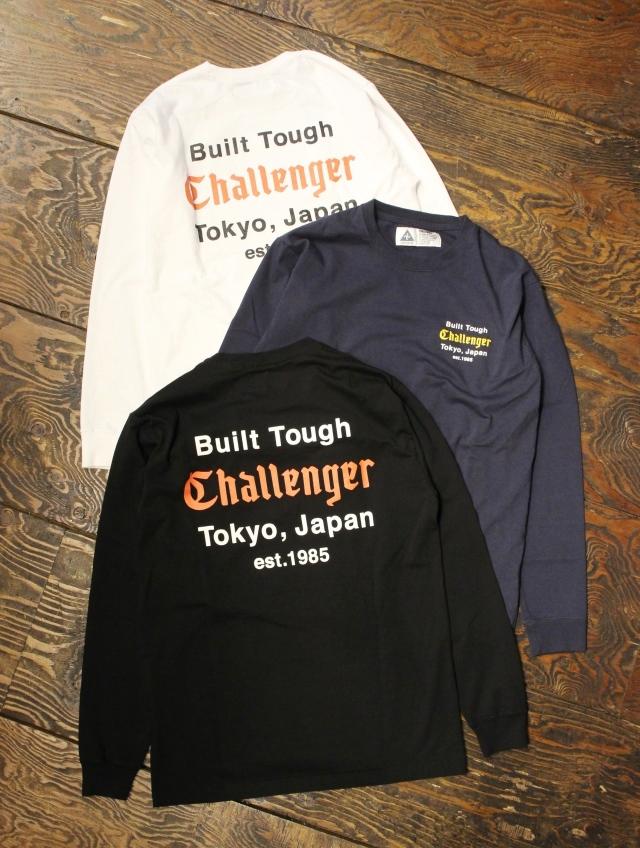 CHALLENGER  「L/S BUILT TOUGH TEE」 ロングスリーブティーシャツ