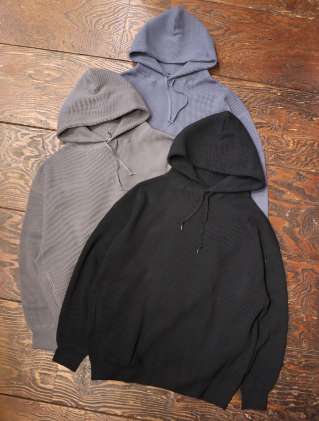 COOTIE  「Heavy Waffle Pullover Parka」  ワッフルプルオーバーパーカー