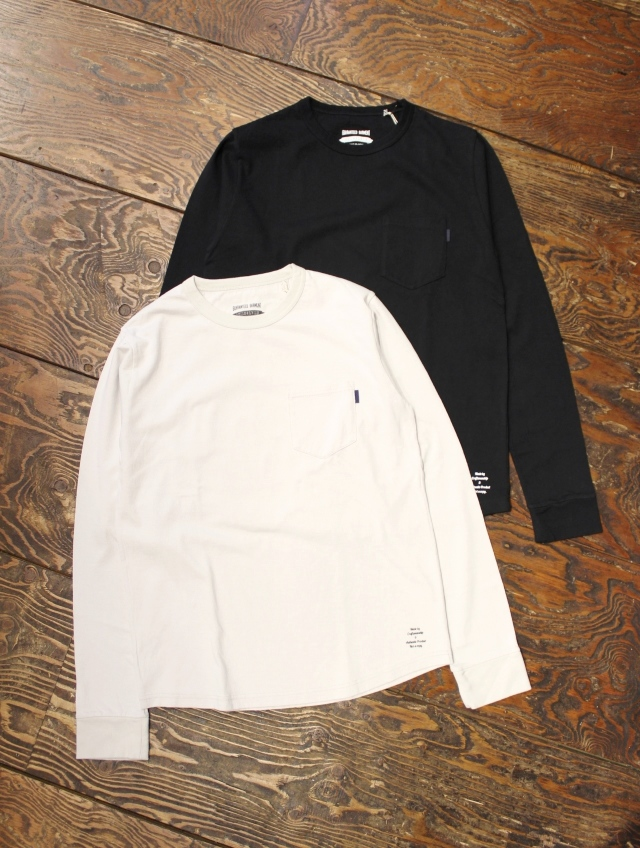 ANASOLULE   「POCKET L/S TEE」 ポケットロングスリーブティーシャツ