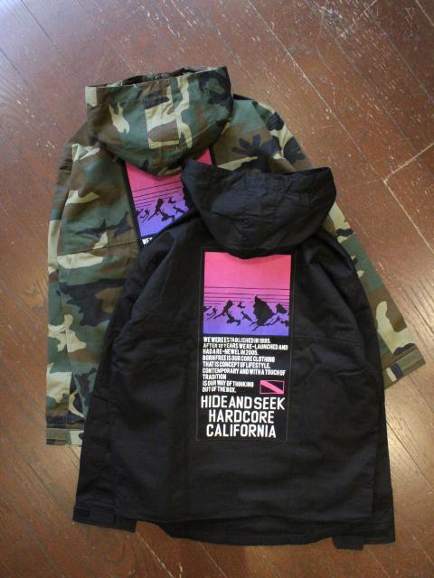 HIDEANDSEEK 「Anorak Jacket」 アノラックジャケット