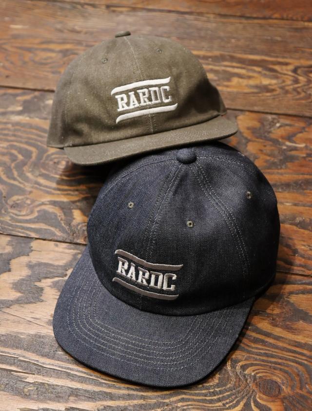 ROUGH AND RUGGED  「 DESIGN CAP / RARDC 」  デニムキャップ
