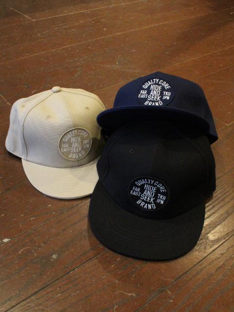 HIDEANDSEEK 「Circle OX CAP」 ワークキャップ