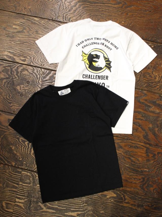CHALLENGER    「DRAGON TEE」 プリントポケットティーシャツ
