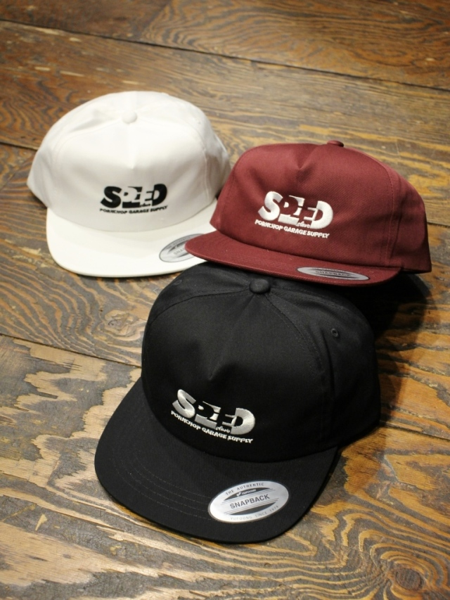 PORKCHOP GARAGE SUPPLY   「SPEED SLAVE CAP」  5パネルキャップ