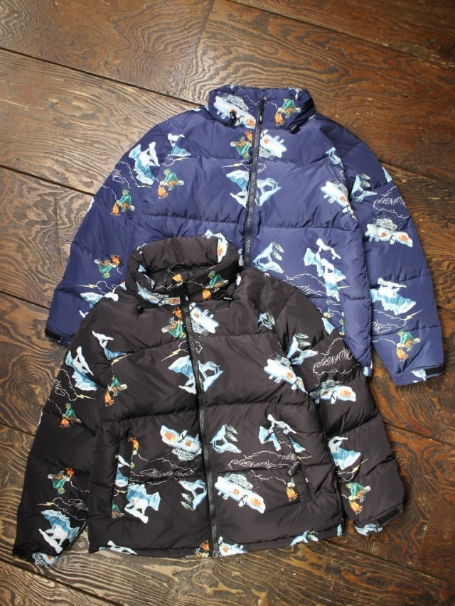 CHALLENGER    「PRINTED DOWN JACKET」  ダウンジャケット