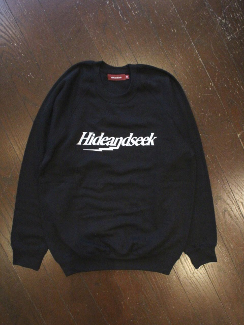 HIDEANDSEEK 「Bolt Raglan Sweat Shirt」 プルオーバースウェット
