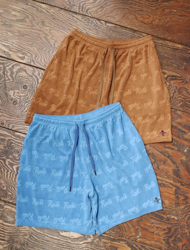 RADIALL    「APACHE - EASY SHORTS」 総柄パイルショーツ