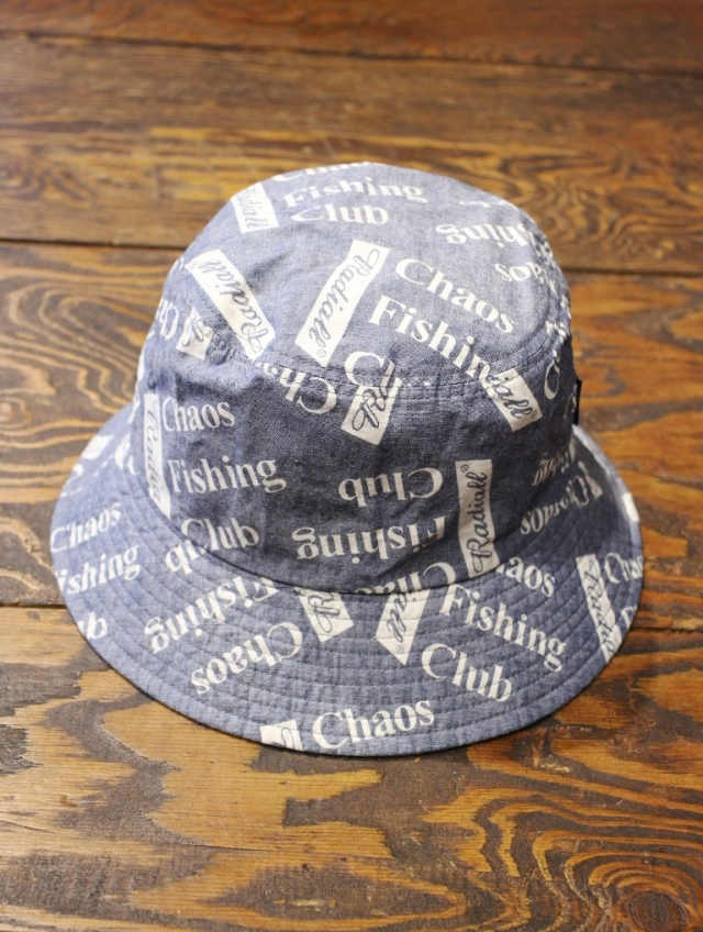 RADIALL × CHAOS FISHING CLUB  「BLUE HOURS - BUCKET HAT」  シャンブレーバケットハット