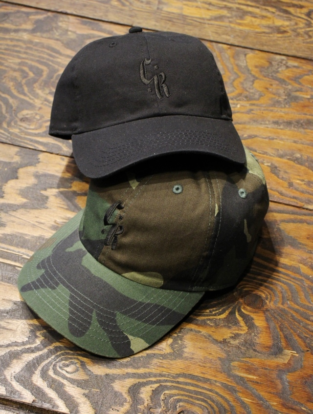 CUT RATE  「LOGO EMBROIDERY CAP」 キャップ