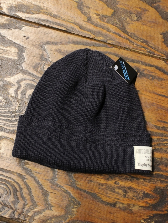 TROPHY CLOTHING   「Cool Max Watchman Cap 」  ニットキャップ