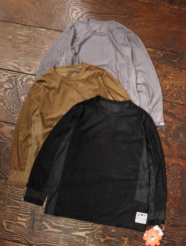 COMFY OUTDOOR GARMENT 「OCTA LS TEE」 ベースレイヤーティーシャツ
