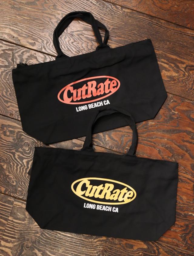 CUT RATE  「CUTRATE LOGO PRINT TOTE BAG」 トートバッグ
