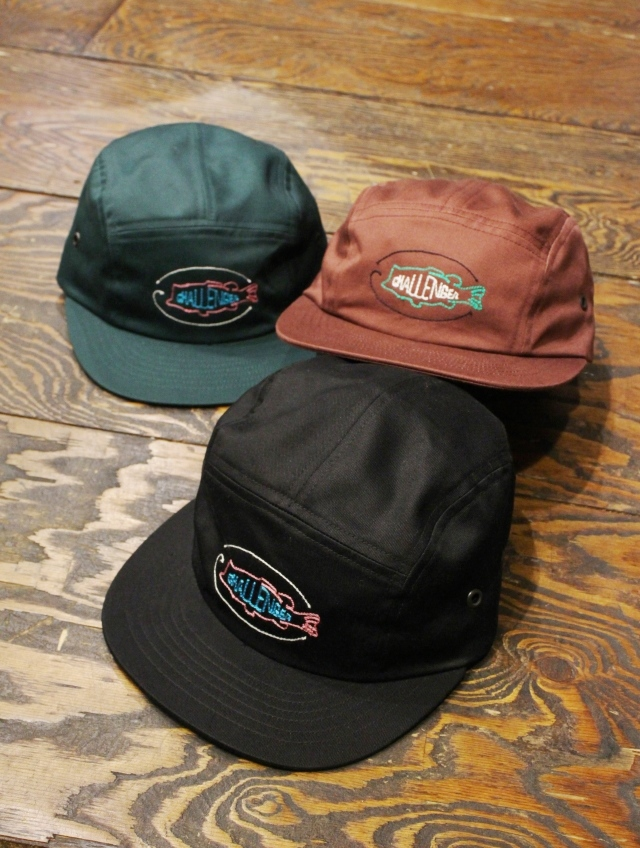 CHALLENGER   「BASS NEON SIGN CAP」 ジェットキャップ