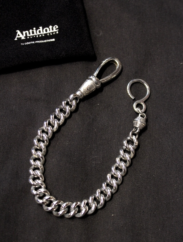 ANTIDOTE BUYERS CLUB by Cootie Productions  「 Classic Wallet Chain  (Long) 」 SILVER950製 ウォレットチェーン