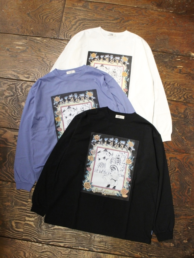 RADIALL  「SOP - C.N. T-SHIRT L/S」  プリントロンティー