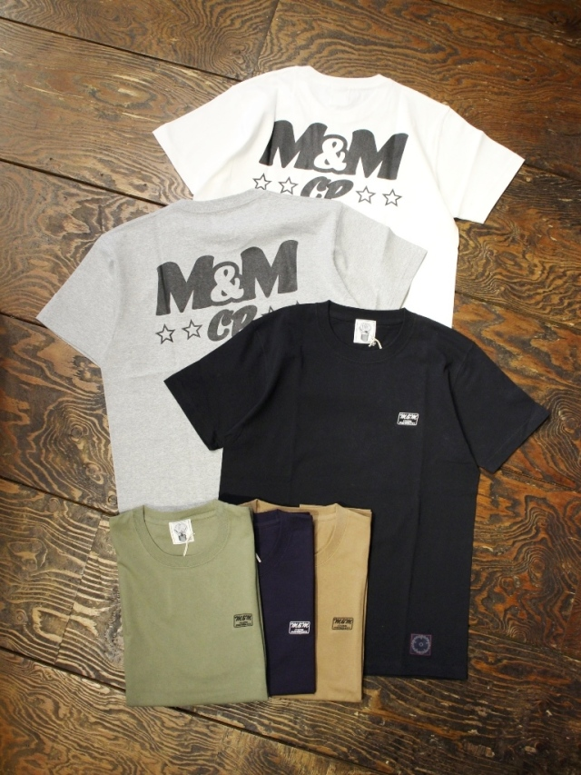 M&M CUSTOM PERFORMANCE  「PRINT S/S T-SHIRT」 プリントティーシャツ