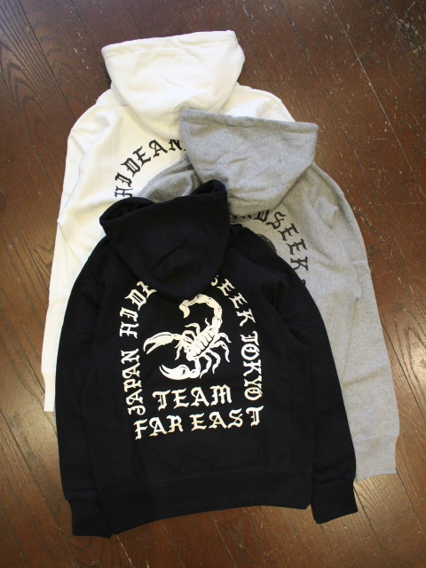 HIDEANDSEEK 「Scorpion Hooded Sweat Shirt」 プルオーバーパーカー