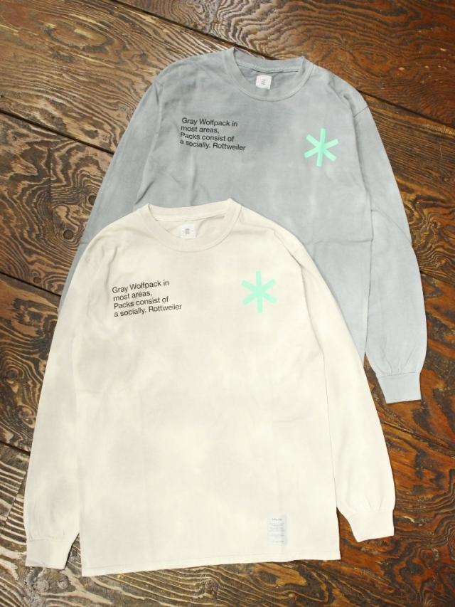 ROTTWEILER  「 Dyed LS Tee 」   ロングスリーブティーシャツ