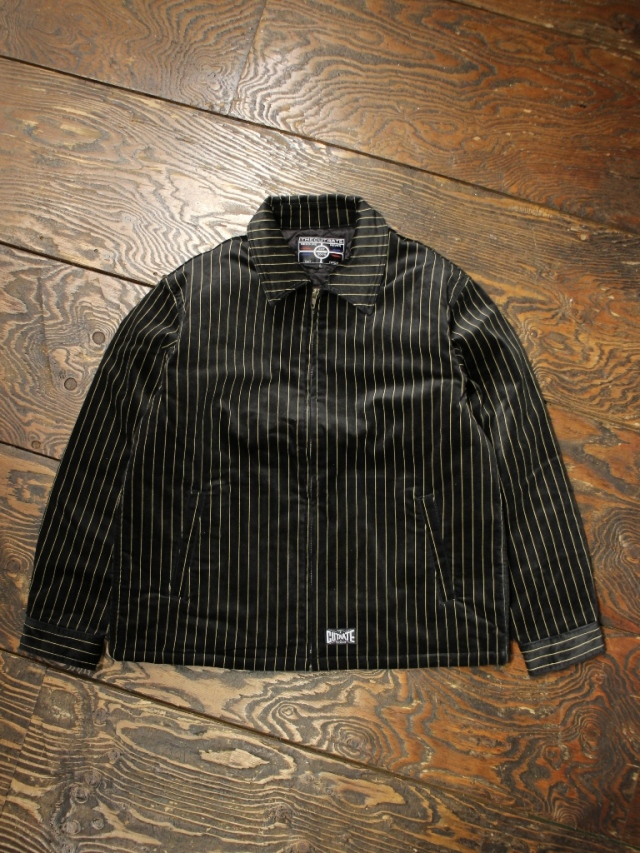CUT RATE  「VELOUR STRIPE JACKT」 ベロアスウィングトップ