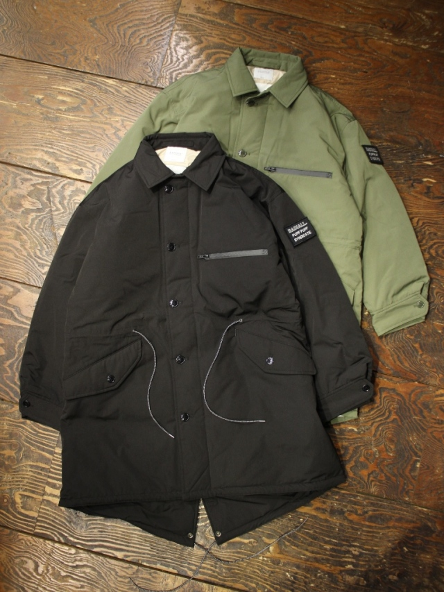 RADIALL  「SUBURBAN - FISHTAIL COAT」 フィッシュテールコート