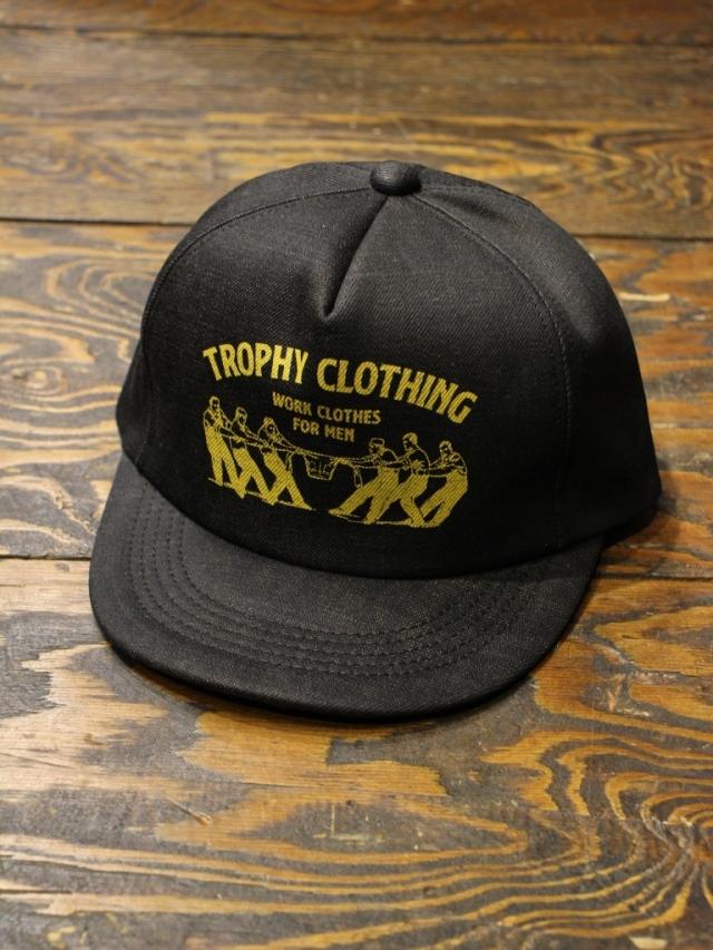 TROPHY CLOTHING  「Workers Logo Tracker Cap」  デニムトラッカーキャップ