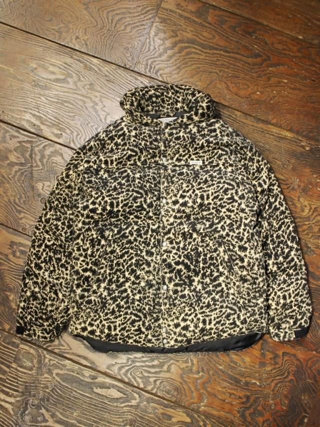 COOTIE  「 Corduroy Leopard Oversized Down Jacket 」 ダウンジャケット