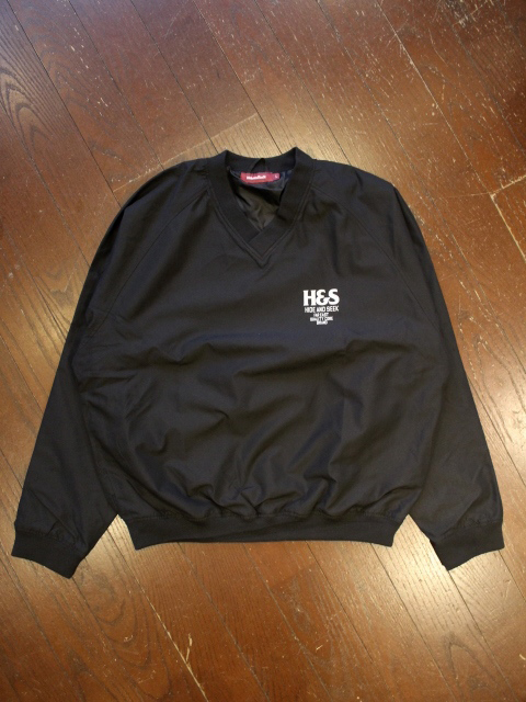 HIDEANDSEEK 「V-Neck Windshirt」 Vネックウインドシャツ